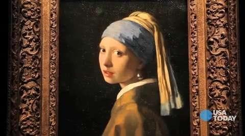 Vermeer's 'Girl' arrives in San Francisco