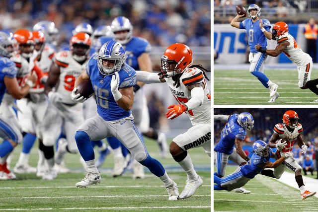 the best attitude 0ff1f 3d13a Detroit Lions' Sankey makes case; injuries hit 3 bubble guys