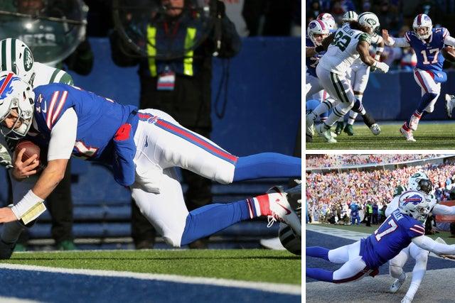 cdd7932b Final score, recap: Josh Allen throws late interception as Bills ...