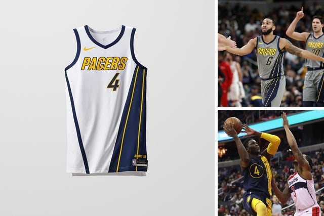 new styles 8eef8 84b7f NBA awards Indiana Pacers, 2018 playoff teams Earned Edition ...