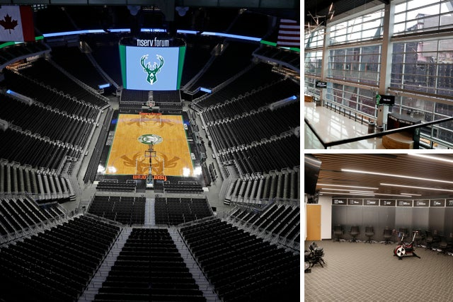 The Bucks Will Replace Cupholders Make Other Changes At Fiserv Forum