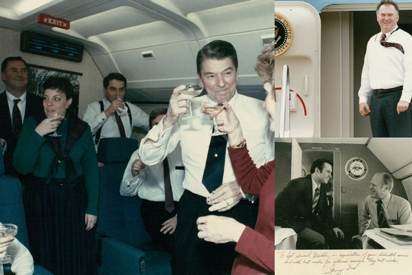 Ex Air Force One steward reflects on his time serving five