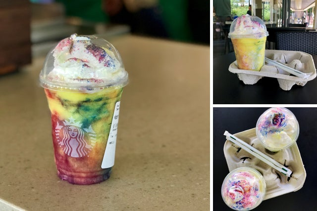 Starbucks Tie Dye Frappuccino review: What the flavor tastes like