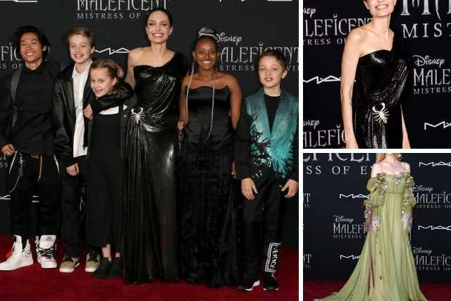 Angelina Jolie S Kids Steal The Show At Maleficent 2