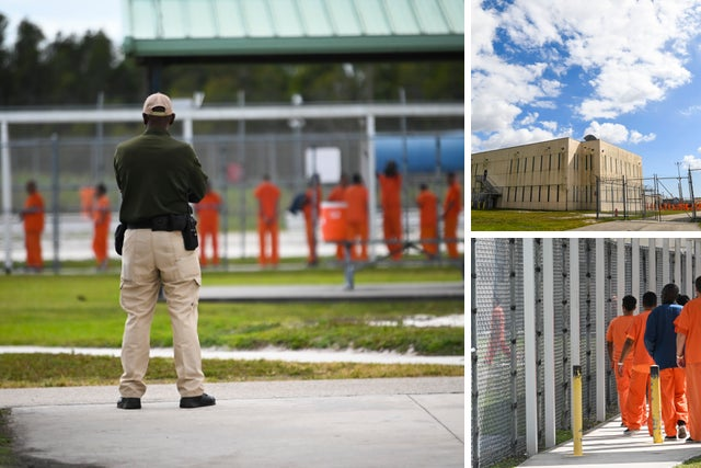 Exclusive look inside the Krome ICE detention center in Miami