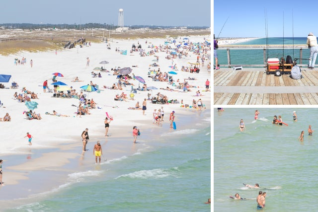 Coronavirus Florida: Beaches that are open from Pensacola to Panama City