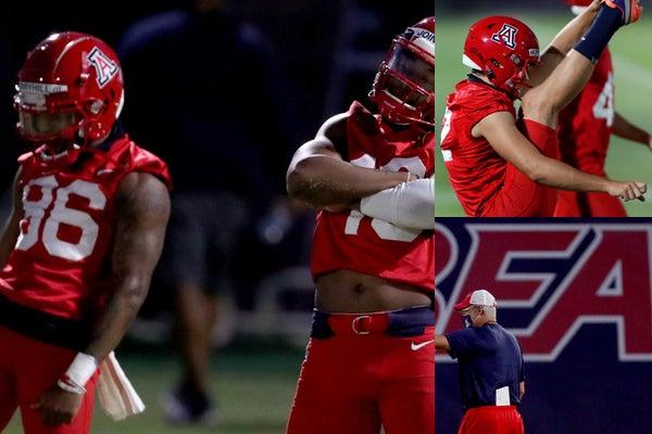 Bryce Wolma Arizona Wildcats Football Jersey - Red