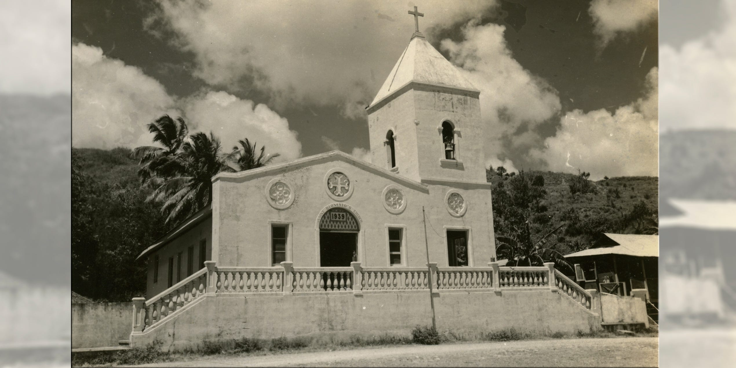Then san dionisio catholic church in postwar umatac now san dionisio