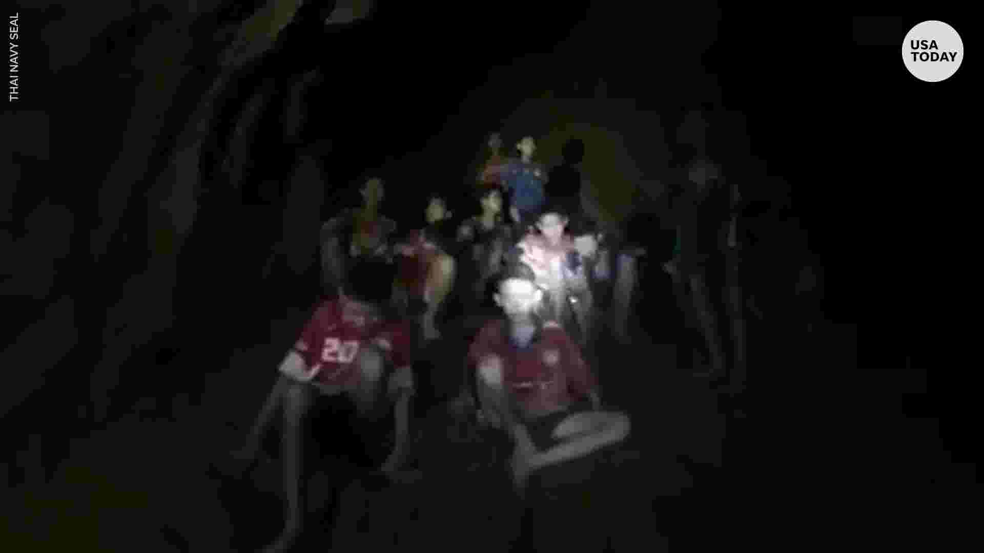 Thai Soccer Team Found Alive After 10 Days Lost In Caves