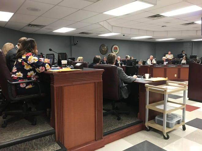 The Williamson County Commission approved the 2018-19 $350 million WCS budget.
