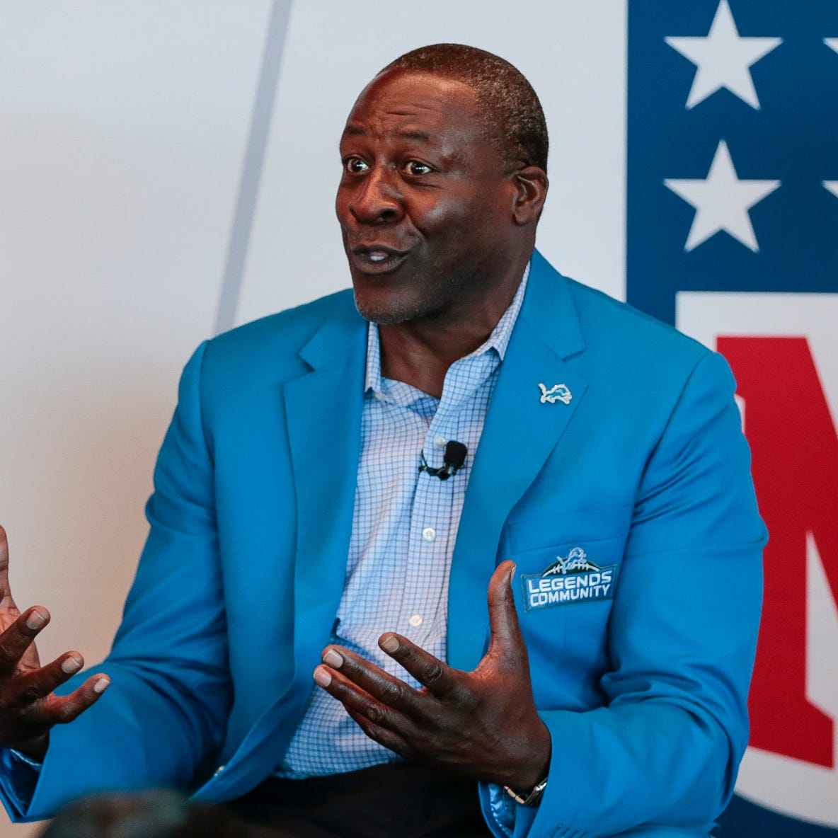 Lomas Brown: 'I got my work cut out for me' as new Lions radio voice