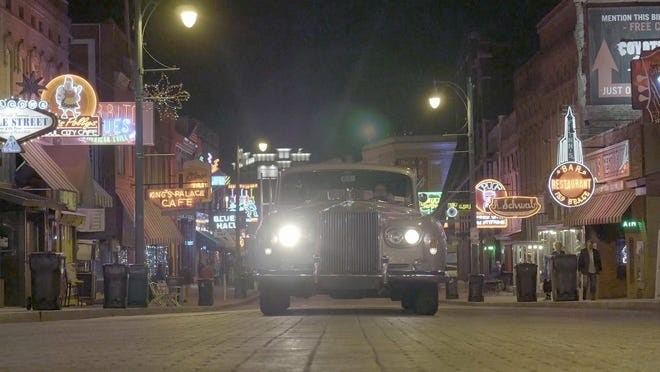 """With director Eugene Jarecki and other artists as passengers, Elvis' 1963 Rolls-Royce takes a musical journey down Beale Street and across America in """"The King."""""""