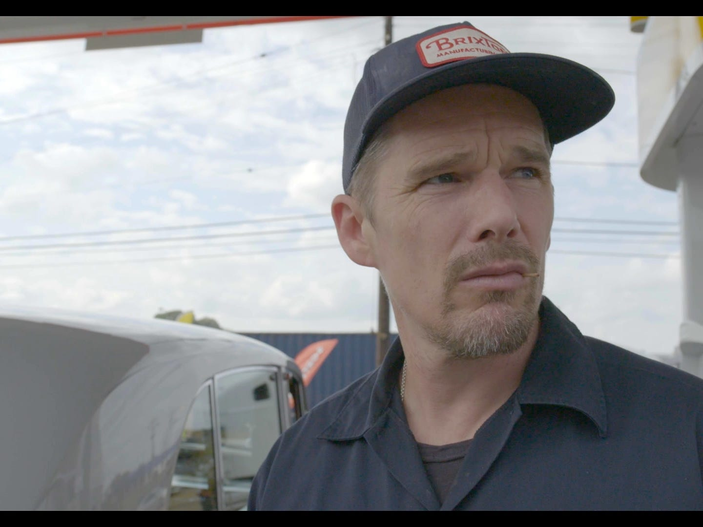 "Actor and Elvis fan Ethan Hawke visits Memphis with director Eugene Jarecki in ""The King."""