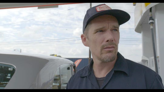 """Actor and Elvis fan Ethan Hawke visits Memphis with director Eugene Jarecki in """"The King."""""""