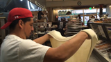 Five Points Pizza in 45 seconds: Watch a pie get made when the camera is sped up
