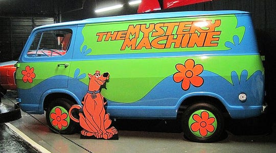 The Scooby Doo Mystery Machine brings back memories of Saturday morning cartoons.