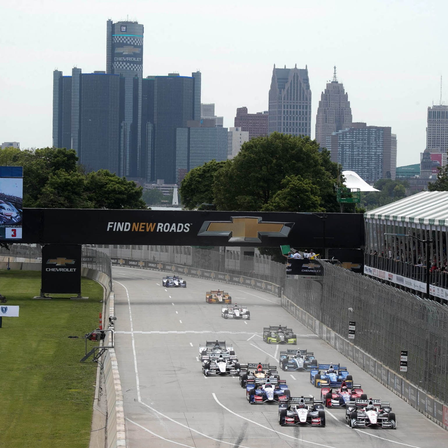 Without Belle Isle, Grand Prix will have to leave metro Detroit