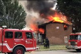 Memphis Fire Department responded to an afternoon blaze at an abandoned apartment complex Thursday.