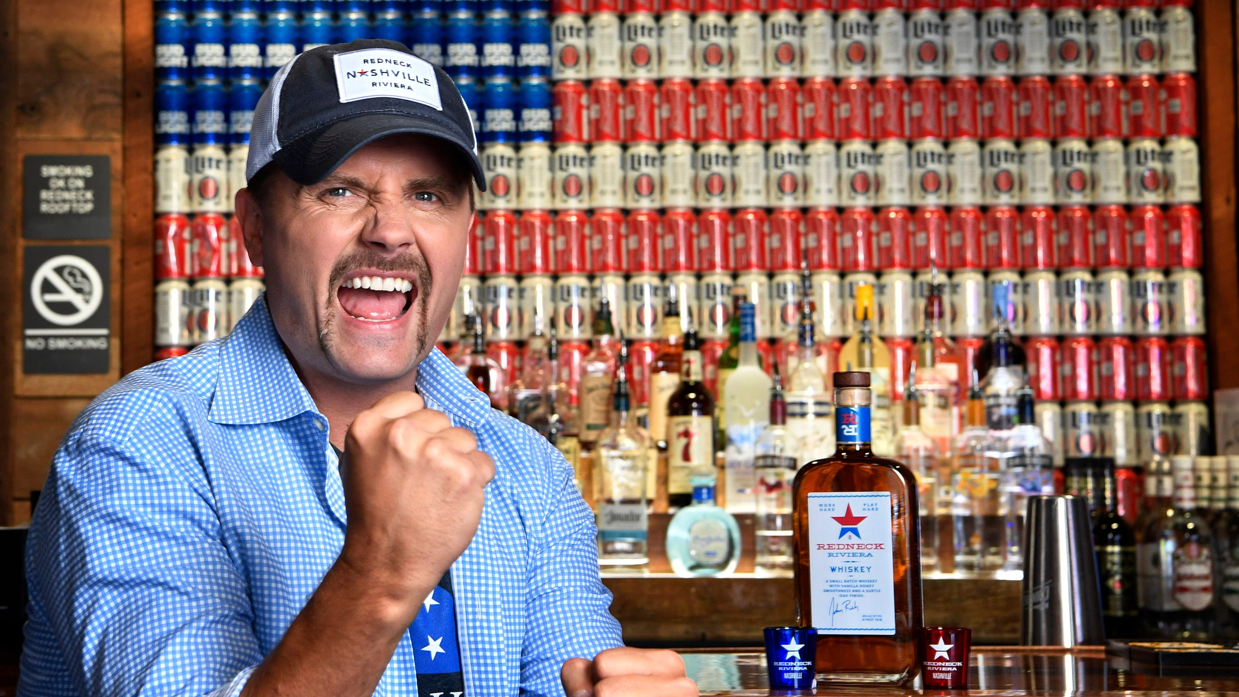 John Rich is excited about the opening of his new bar,  Redneck Riviera at 208 BroadwayWednesday July 11, 2018, in Nashville, Tenn.