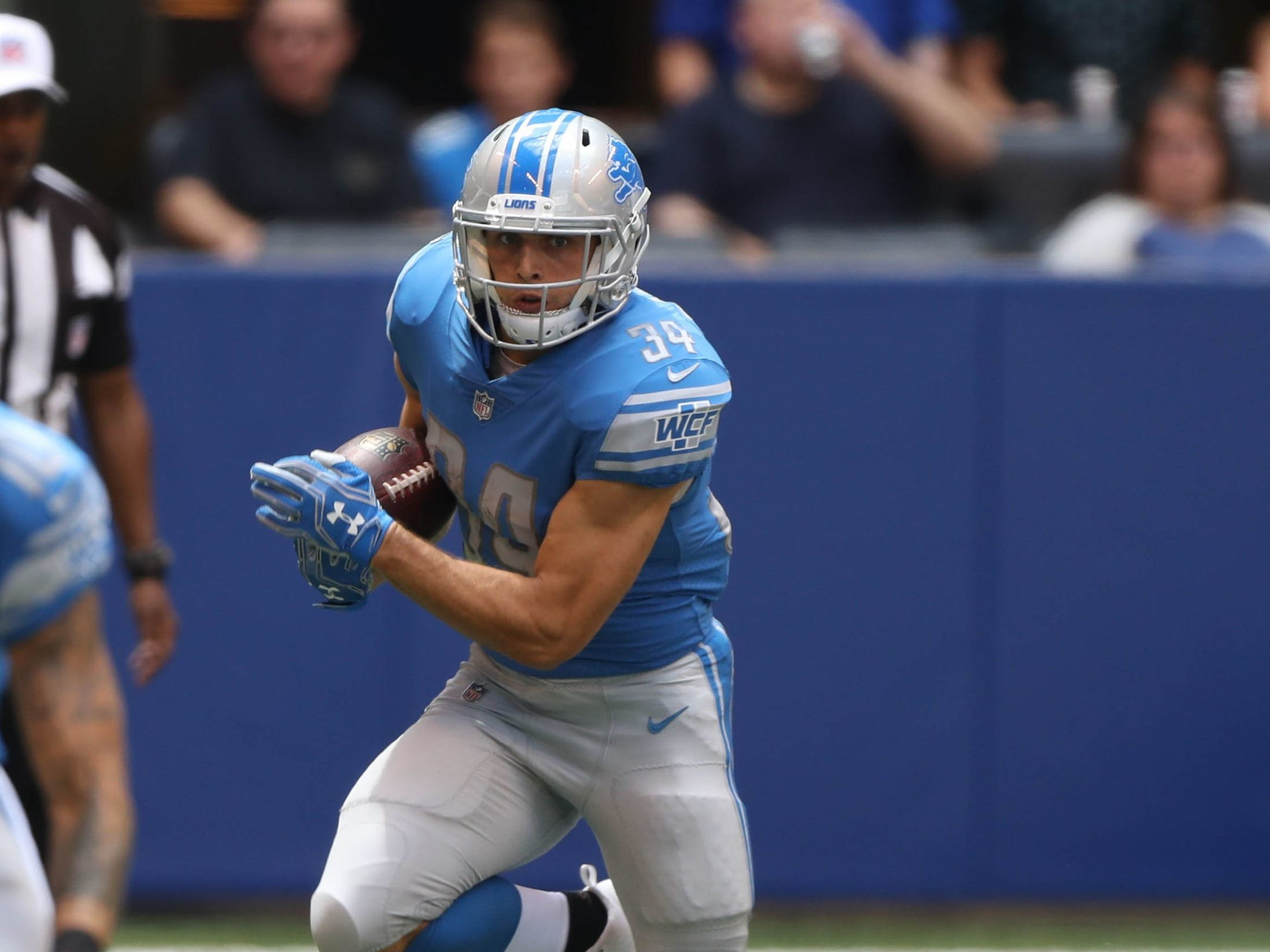 RB Zach Zenner. Overall: 70. Speed: 87. Agility: 81. Awareness: 75.