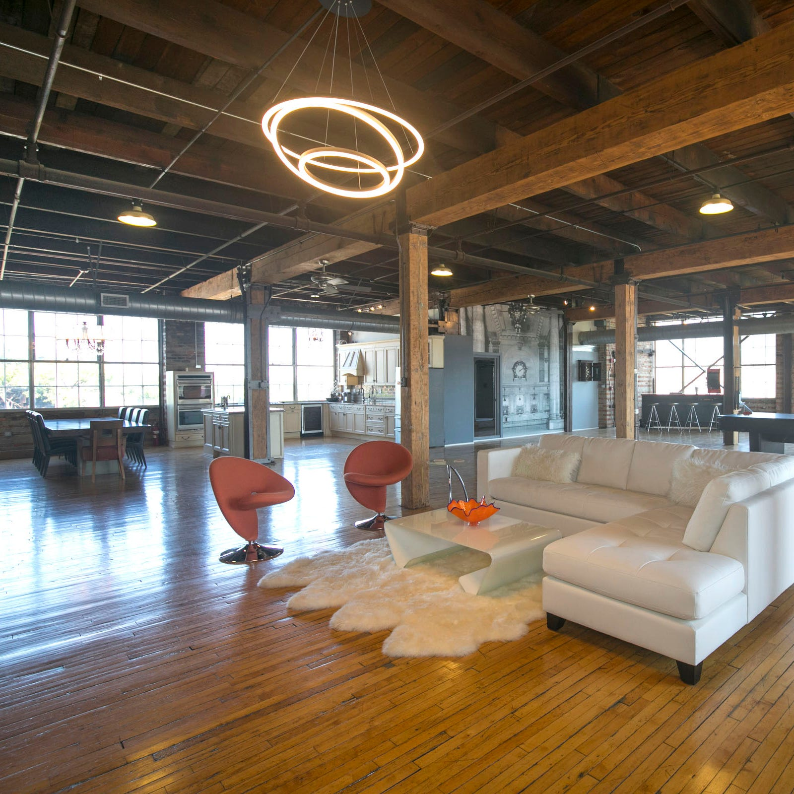 Former Corktown bachelor pad is now a loft fit for the whole family
