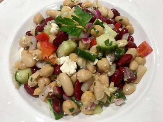 Mediterranean Three Bean Salad 22