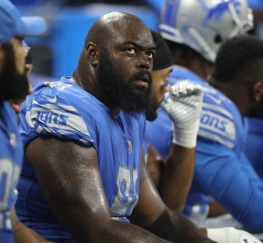 A'Shawn Robinson was the Lions' second-round pick in 2016.
