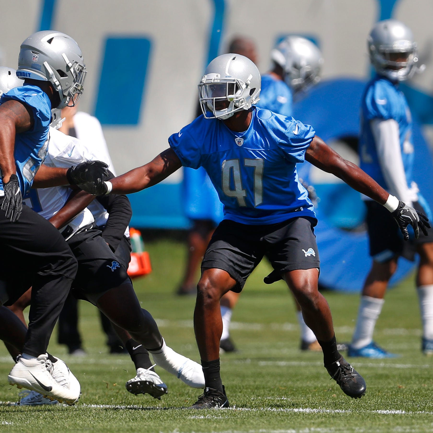 Detroit Lions' rookie Tracy Walker settling in on special teams