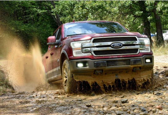 2018 Ford F-150 on a Media Drive