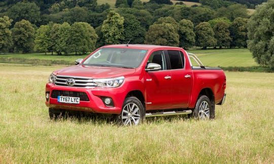 The Toyota Hilux Invincible is not sold in the United States