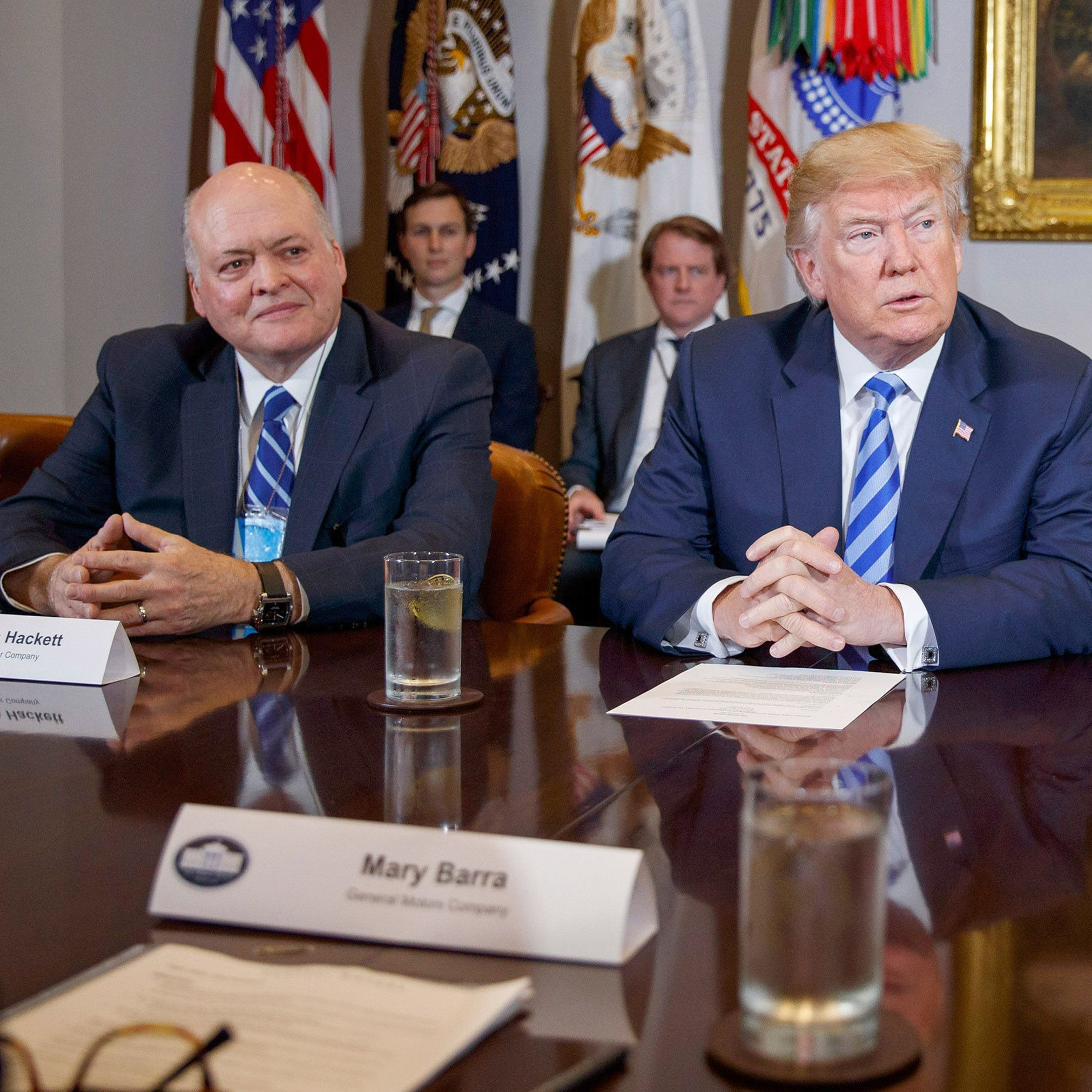 Automakers to Trump: Higher tariffs would  affect consumers, jobs