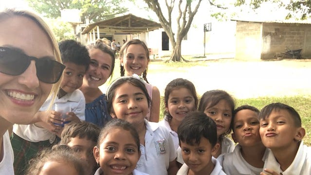 FSSD teacher Megan Preston spent time this summer teaching in Honduras.