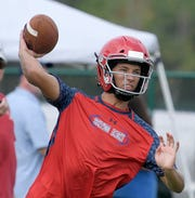 Brentwood Academy quarterback Wade Williams and the Eagles will compete in the Titans passing tournament on Wednesday.