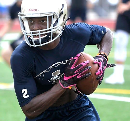 Wide receiver T.J. Sheffield
