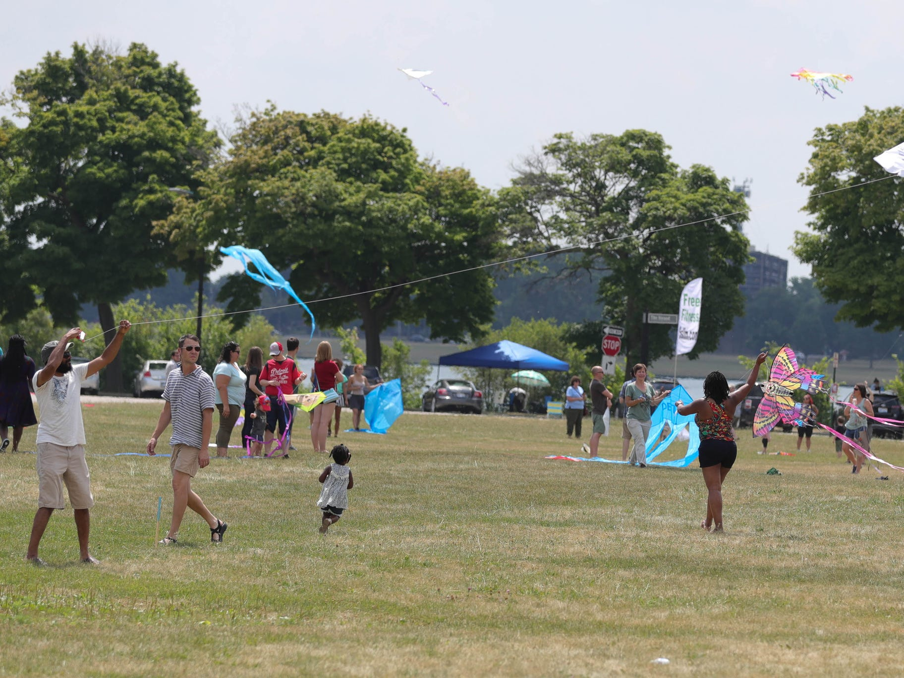 The Detroit Kite Festival was held on Belle Isle Sunday, July 15, 2018. Kite enthusiasts from all over Metro Detroit enjoyed the festivities.