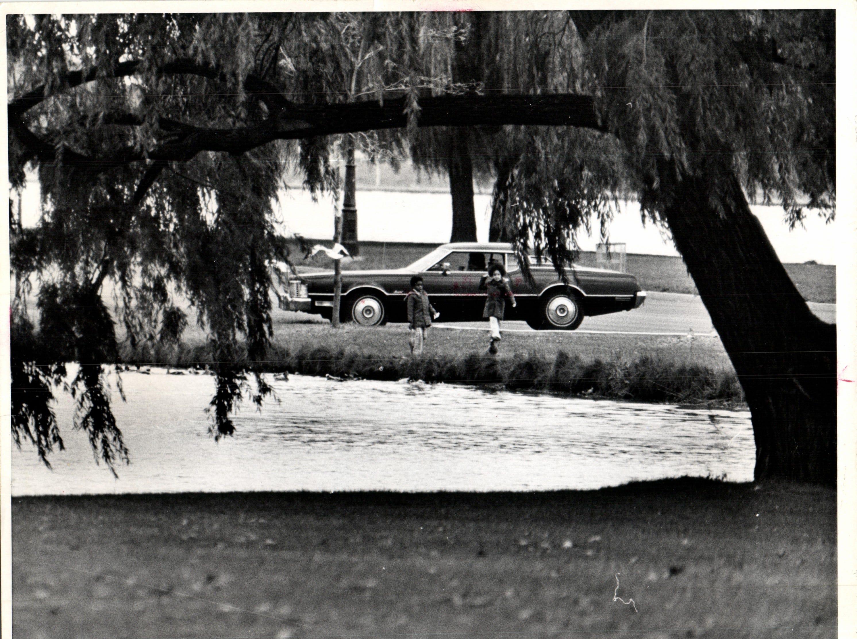 Belle Isle in 1974.
