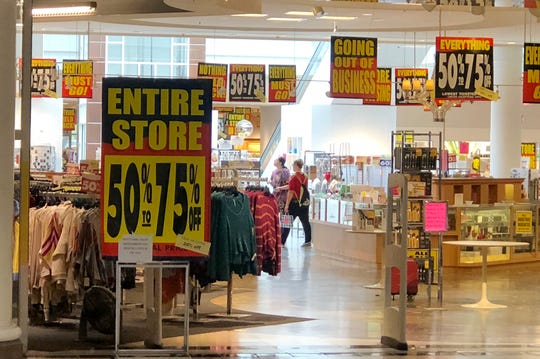 Caron's department store, located at Laurel Park Place mall in Livonia, is going out of business.