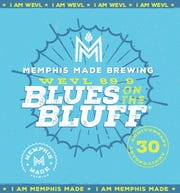 The Memphis Made Brewing company will introduce a new signature beer during Saturday's WEVL fundraiser, with a label designed by Weston Notestine.