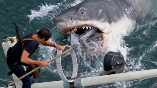 """You may need a bigger picnic basket as well as a bigger boat if you go see """"Jaws"""" Saturday night at Shelby Farms."""