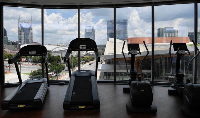 Jw marriott nashville: tallest newest luxury hotel downtown