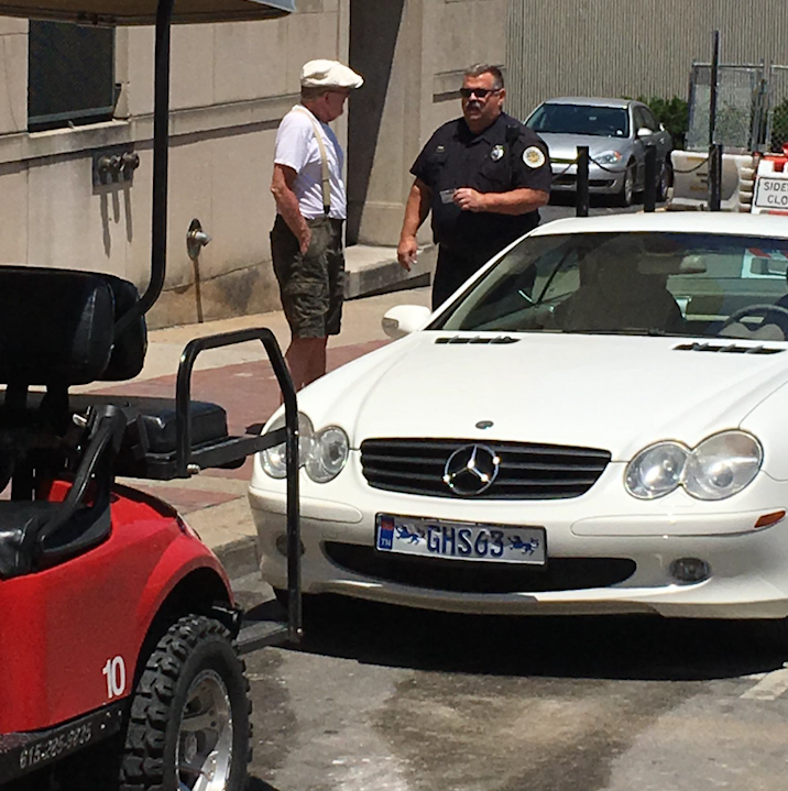 Mercedes driver repeatedly rams Joyride cart on Broadway in road rage incident, police say