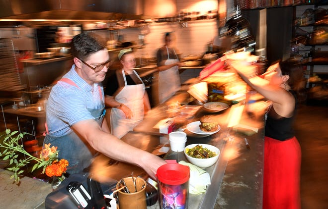 Bryan Lee Weaver, chef of Butcher & Bee, says restaurants across Nashville are having trouble filling positions at all levels because of the labor shortage.