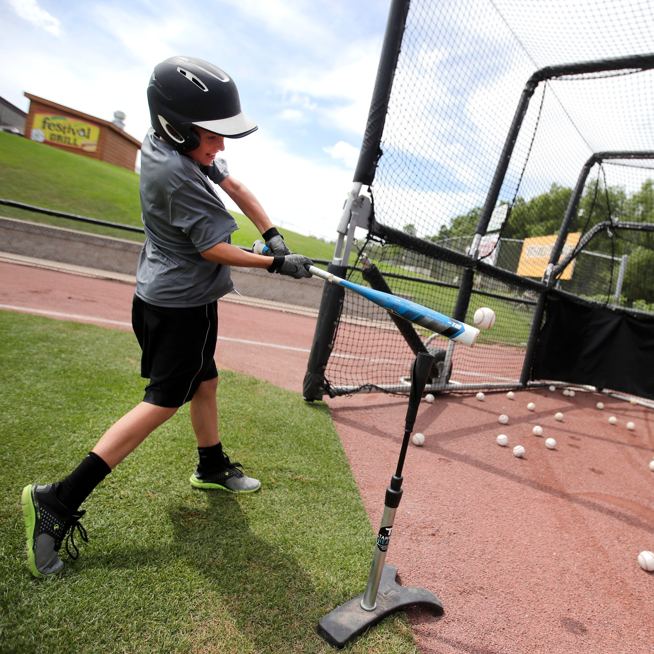 Scheels Kids Camp with the Wisconsin Timber Rattlers