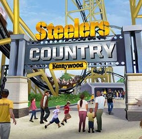 Kennywood park in Pittsburgh announces Steelers coaster. Your move, Kings Island