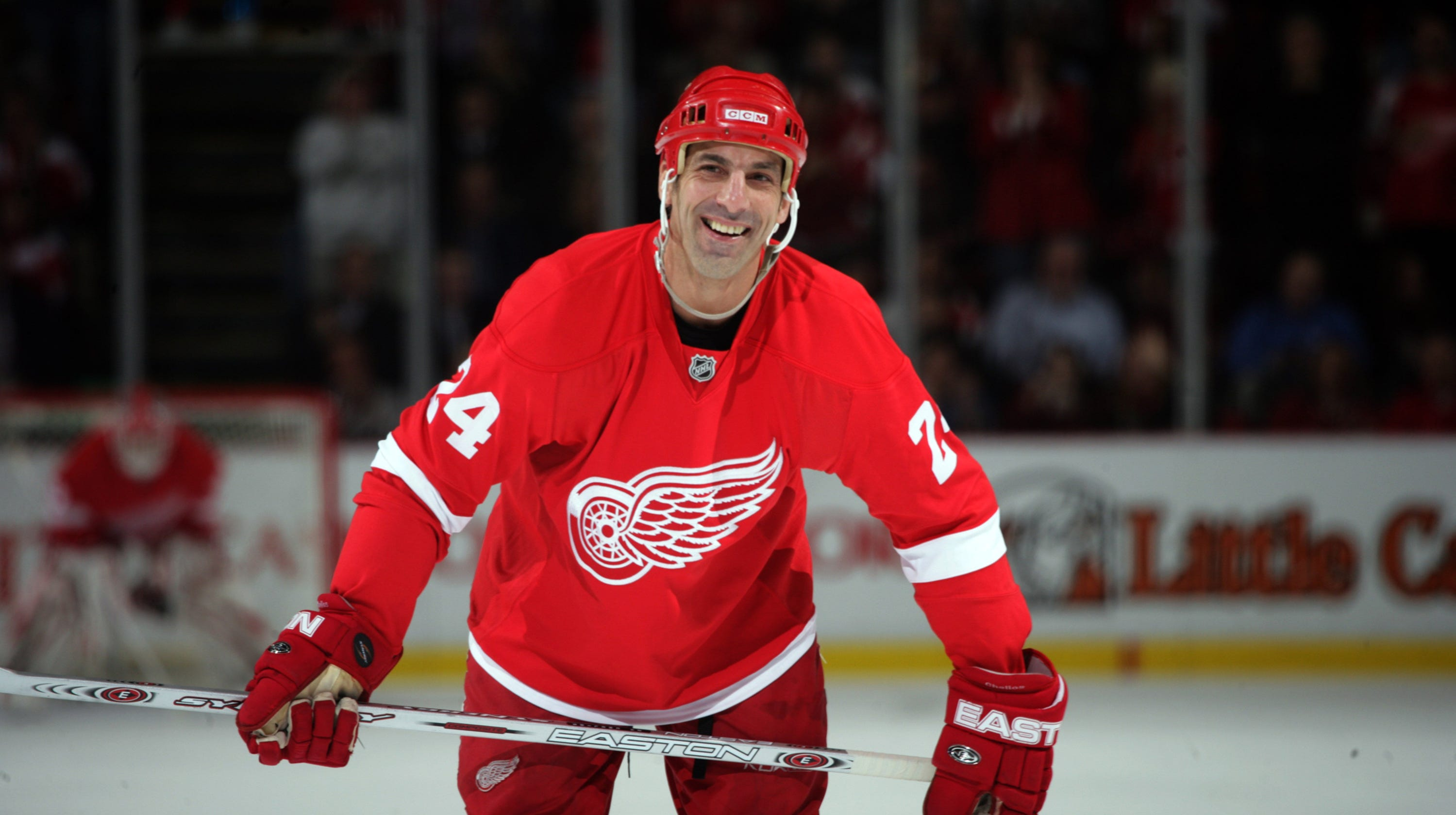 b785c38ec87 Chris Chelios leaving Detroit Red Wings for Blackhawks couldn't wait?