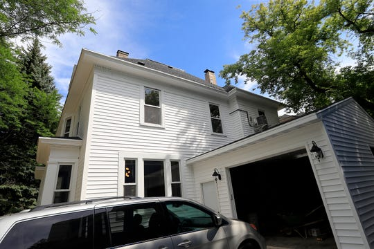 Creative Edge Properties took this condemned home at 159 N. Maple Ave in Green Bay's  Fort Howard neighborhood and restored it to a home now on the market for $250,000.