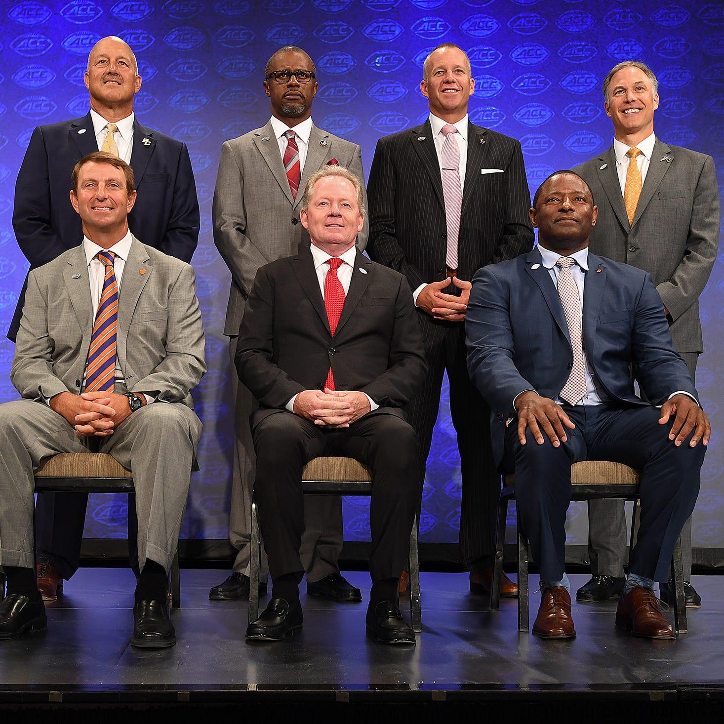 Five things Atlantic Coast Conference coaches said about Clemson Coach Dabo Swinney