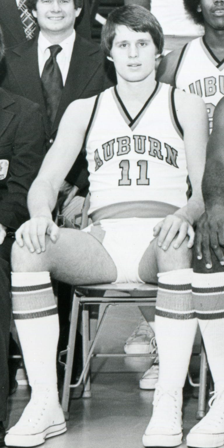 Mark Barnhizer played three seasons at Auburn after transferring from Purdue.