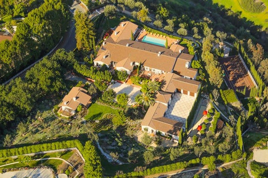 This mansion goes to auction July 27.