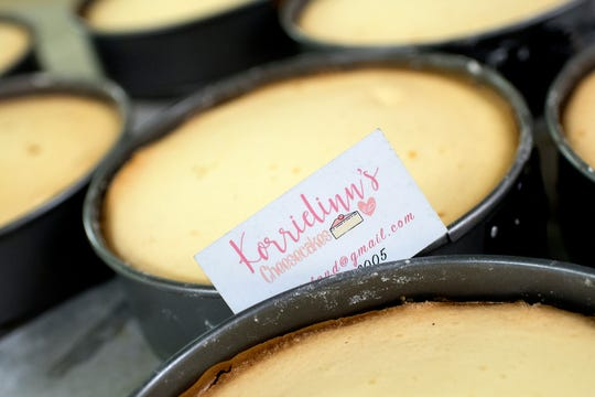 KorrieLinn DeLand got her baking start at Sidestreets Deli, a small eatery in Charlotte that she managed. Her cheesecakes have been in such demand that she's left the eatery and started her own wholesale business.